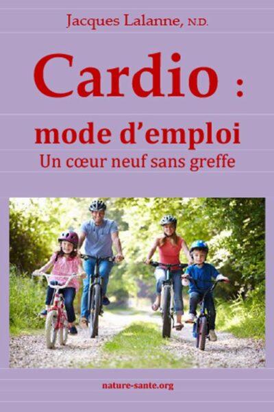 Cardio : mode d'emploi couverture 1